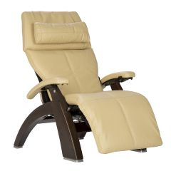 Perfect Chair® PC-610 Omni-Motion Classic-Performance Package-Dark Walnut-Ivory Premium Leather
