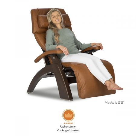 Perfect Chair PC-600 in Supreme Upholstery Package with Woman in Chair