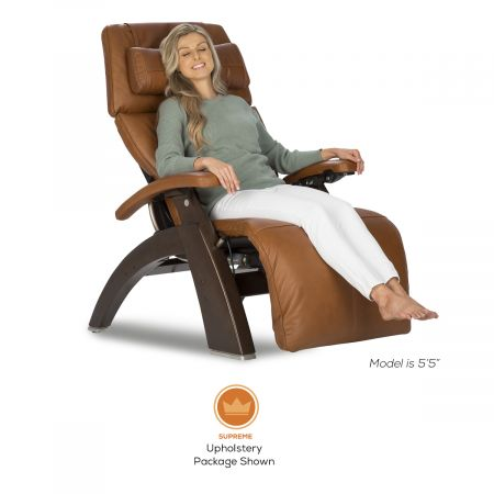Woman in Perfect Chair PC-610 in Supreme Upholstery Package