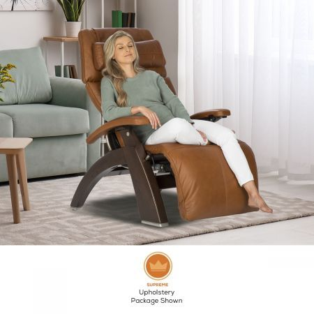 Perfect Chair PC-600 in Supreme Upholstery Package with Woman in Chair in a Room