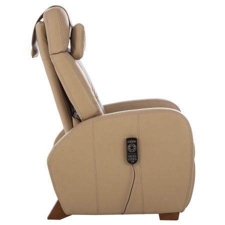 Profile view of sand Lito recliner