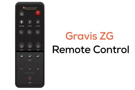 Gravis ZG Chair remote control