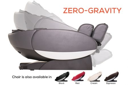 Novo XT2 Massage Chair in Gray - Zero-Gravity Position