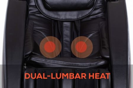 Novo XT2 Massage Chair in Black - Dual-Lumbar Heat