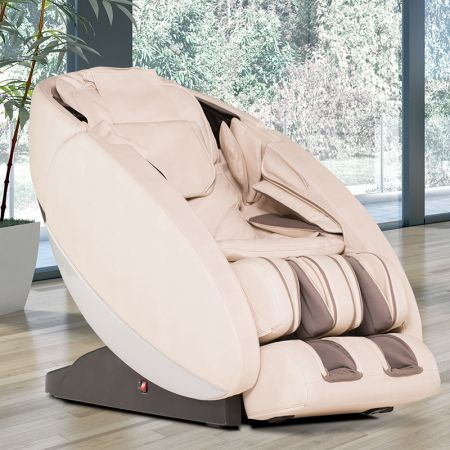 Novo XT2 Massage Chair in Cream - In a room