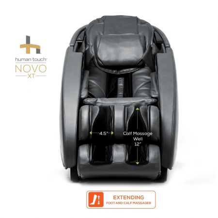 Novo XT foot and calf dimensions