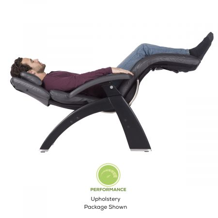 Man in Perfect Chair in zero gravity seating position