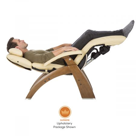 Man in Perfect Chair, in zero gravity position