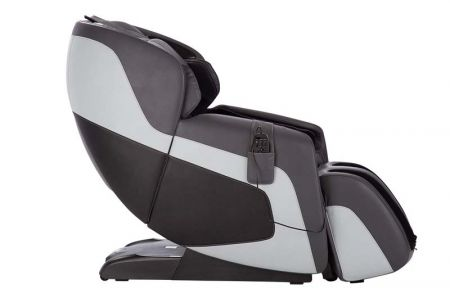 Sana Massage Chair in Gray - Side View