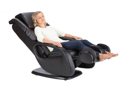WholeBody® 5.1 Massage Chair - woman reclining in chair