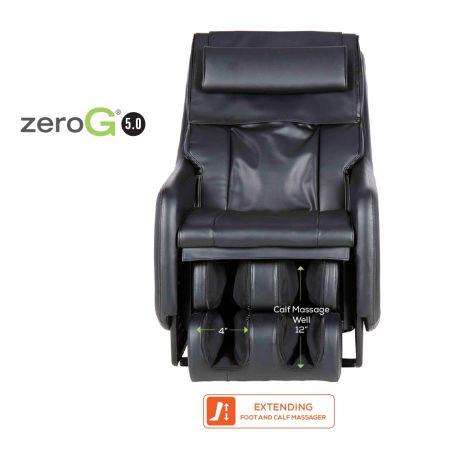 ZeroG 5.0 massage wells dimensions