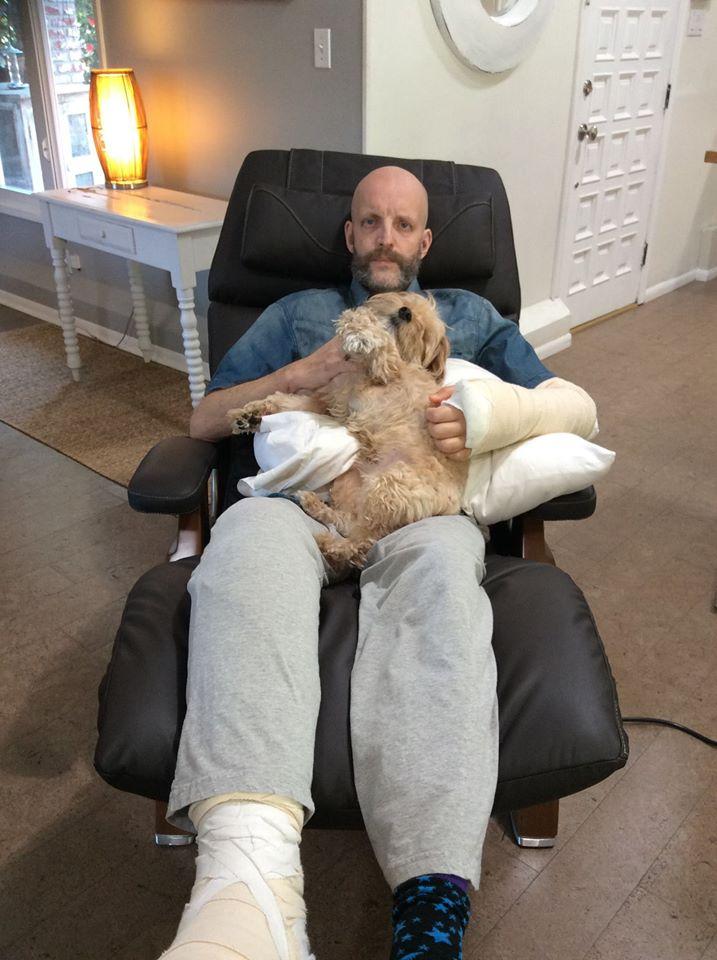 Jim Tavare and Mr. Kippy in the PC-610
