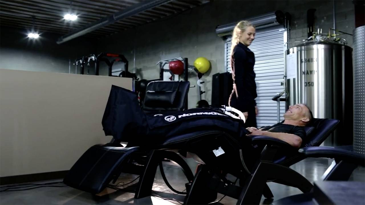 NormaTec at THE LAB in Santa Barbara