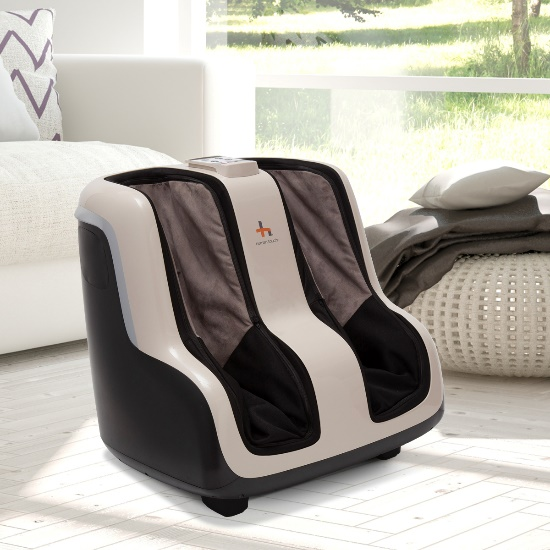 Reflex SOL Foot and Calf Massager in a room setting