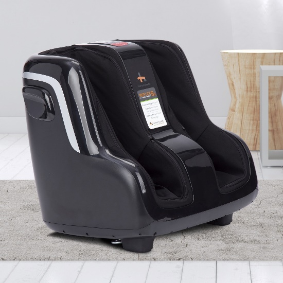 Reflex5s Foot and Calf Massager in a room setting