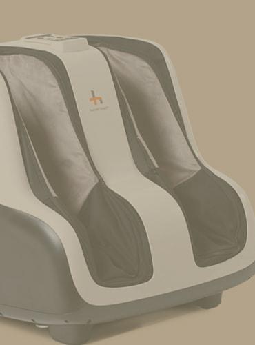 the best human touch foot & calf massager grey