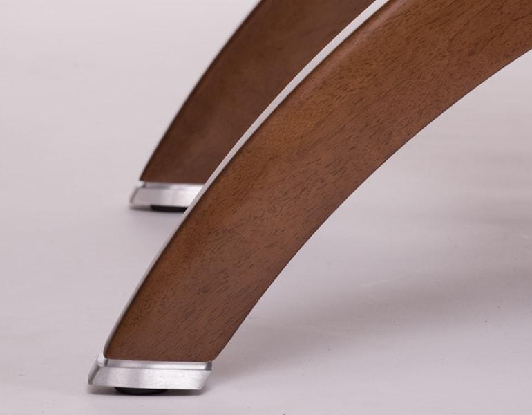 wooden elements zero gravity recliner